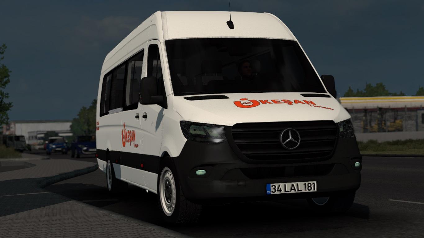 ETS 2 / ATS Mercedes-Benz Sprinter 2020 Mod
