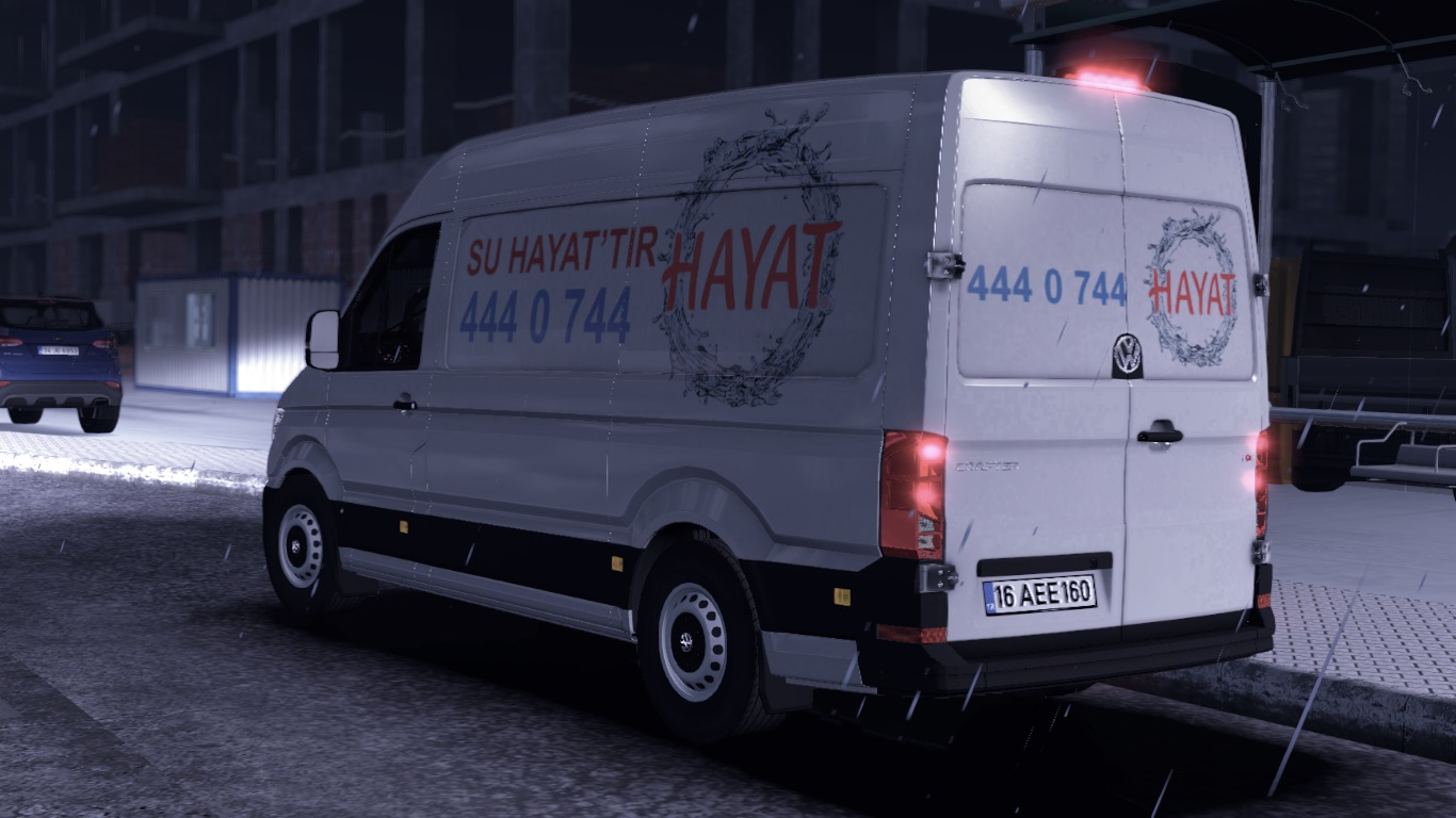 ETS 2 / ATS Volkswagen Crafter 2020 Car Mod Picture Image Photo img