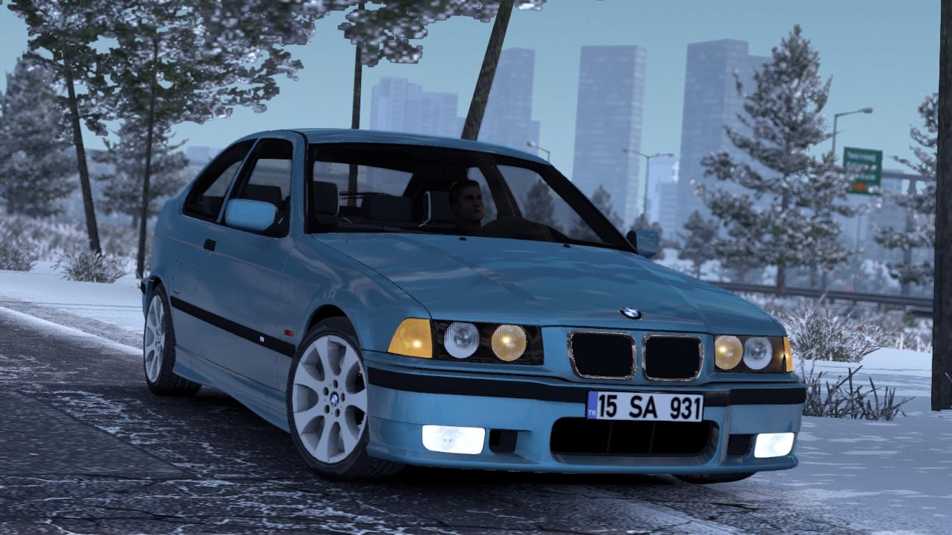 ETS 2 / ATS BMW E36 Compact Mod