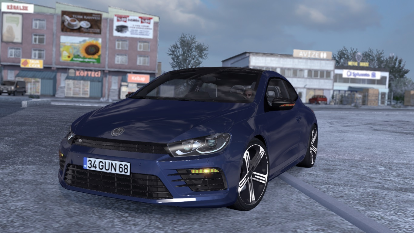 ETS 2 / ATS Volkswagen Scirocco R Car Mod Picture Image Photo img