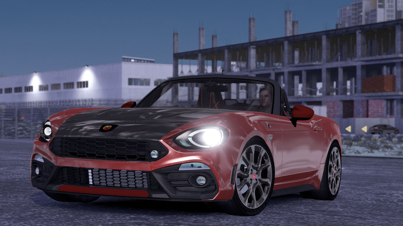 ETS 2 / ATS Abarth Fiat 124 Spider Car Mod Picture Image Photo img