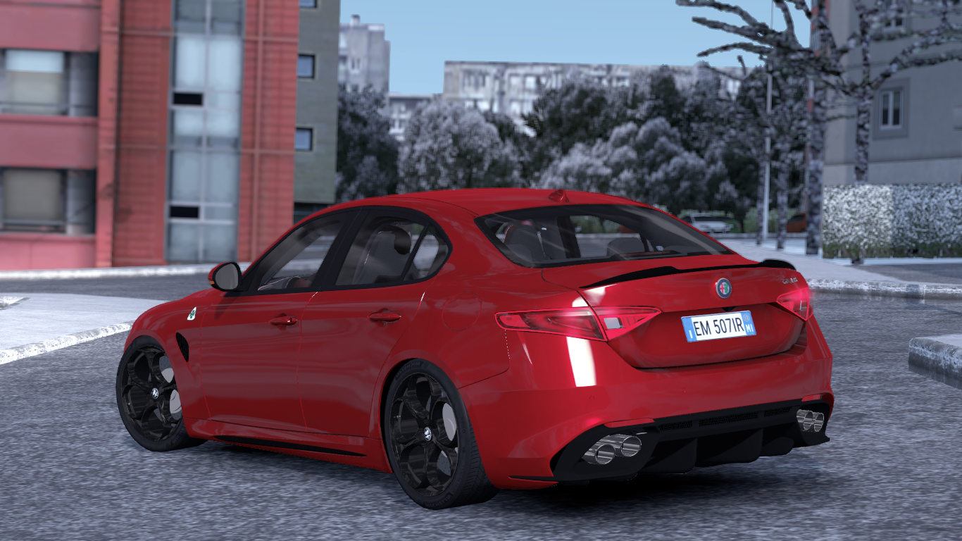 ETS 2 / ATS Alfa Romeo Giulia  Car Mod Picture Image Photo img