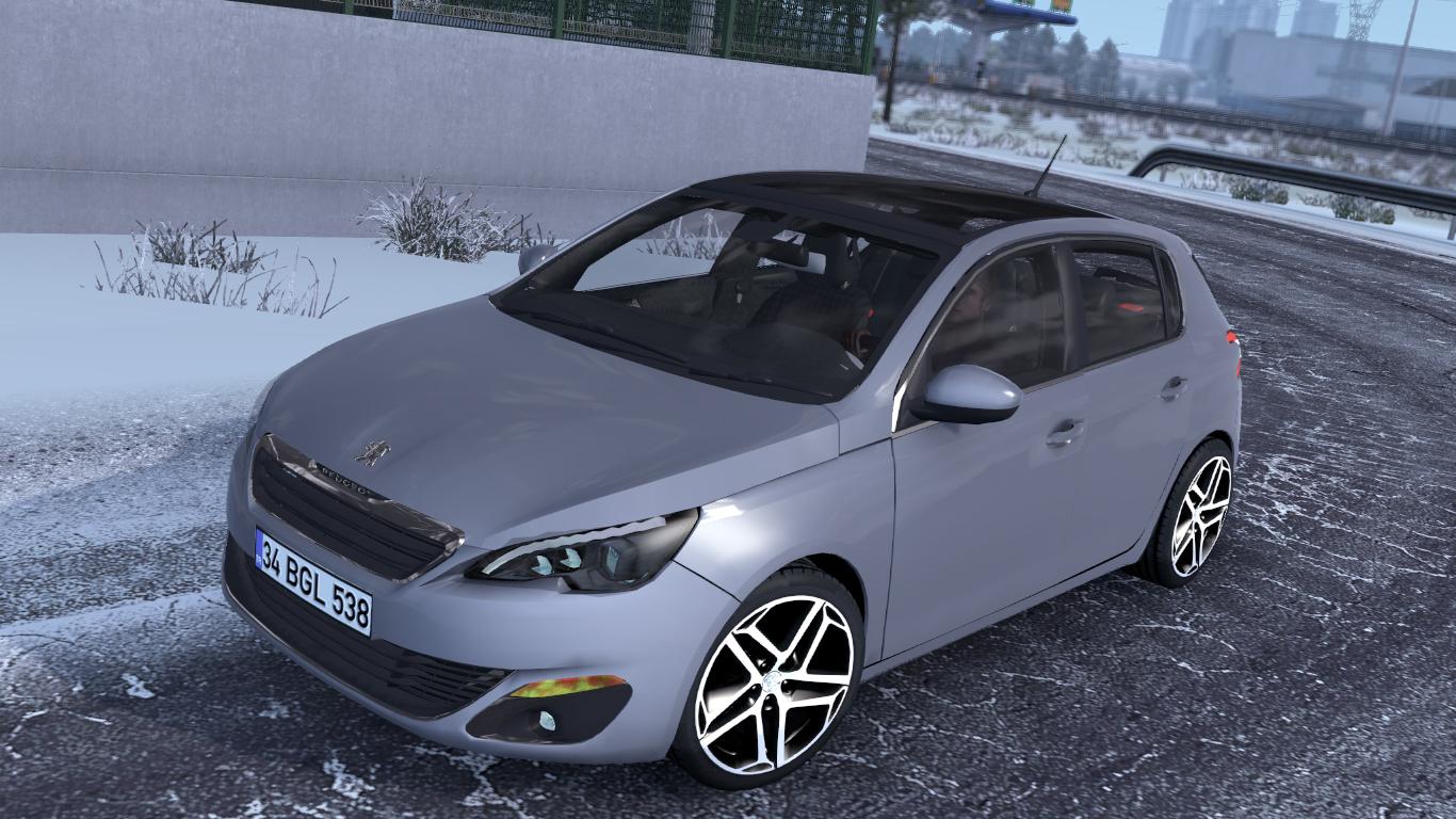 ETS 2 / ATS Peugeot 308 Car Mod Picture Image Photo img