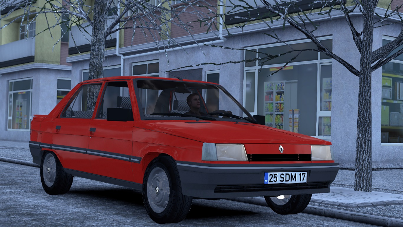 ETS 2 / ATS Renault 9 Sedan Broadway Car Mod Picture Image Photo img