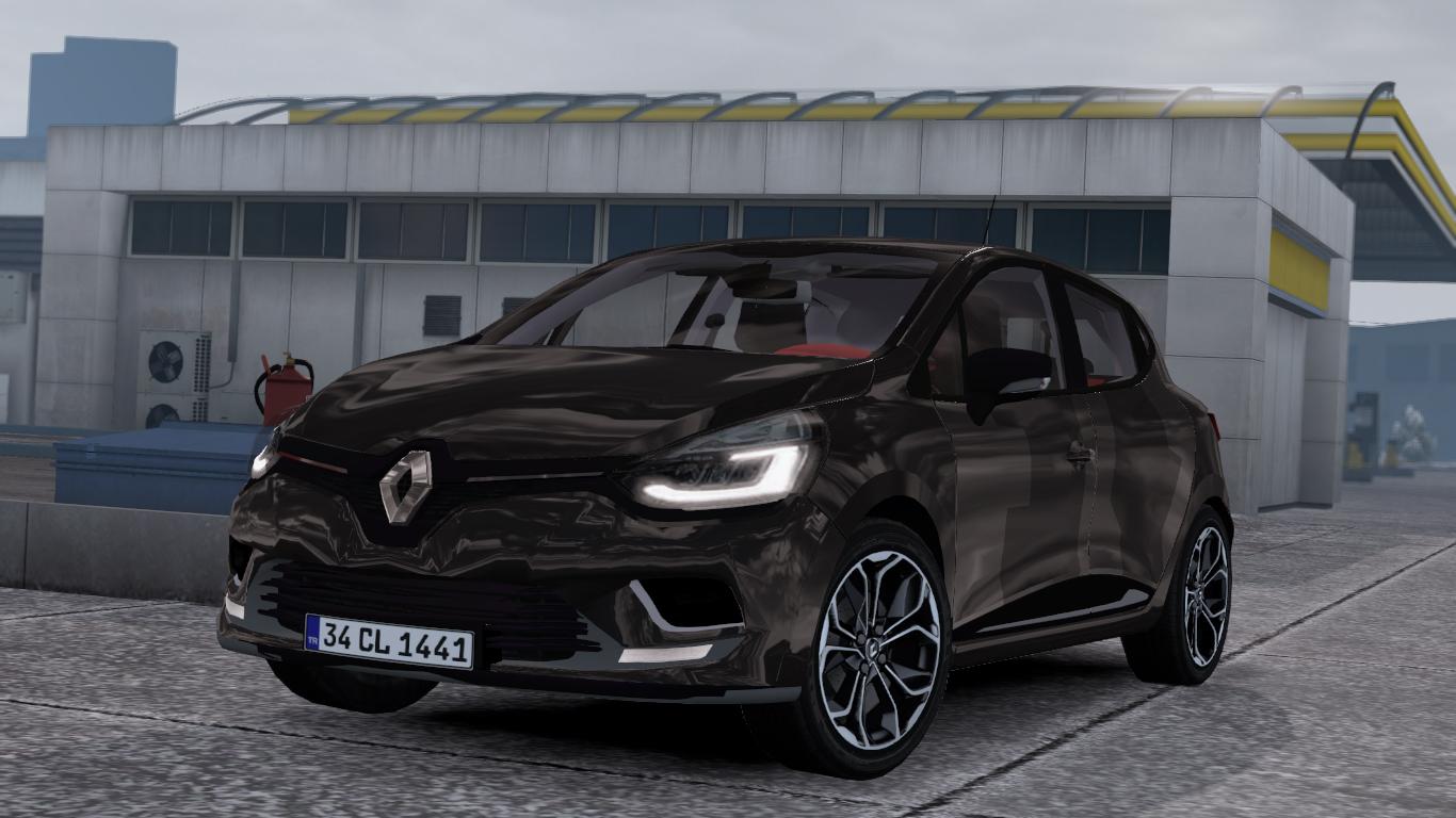 ETS 2 / ATS Renault Clio IV Car Mod Picture Image Photo img