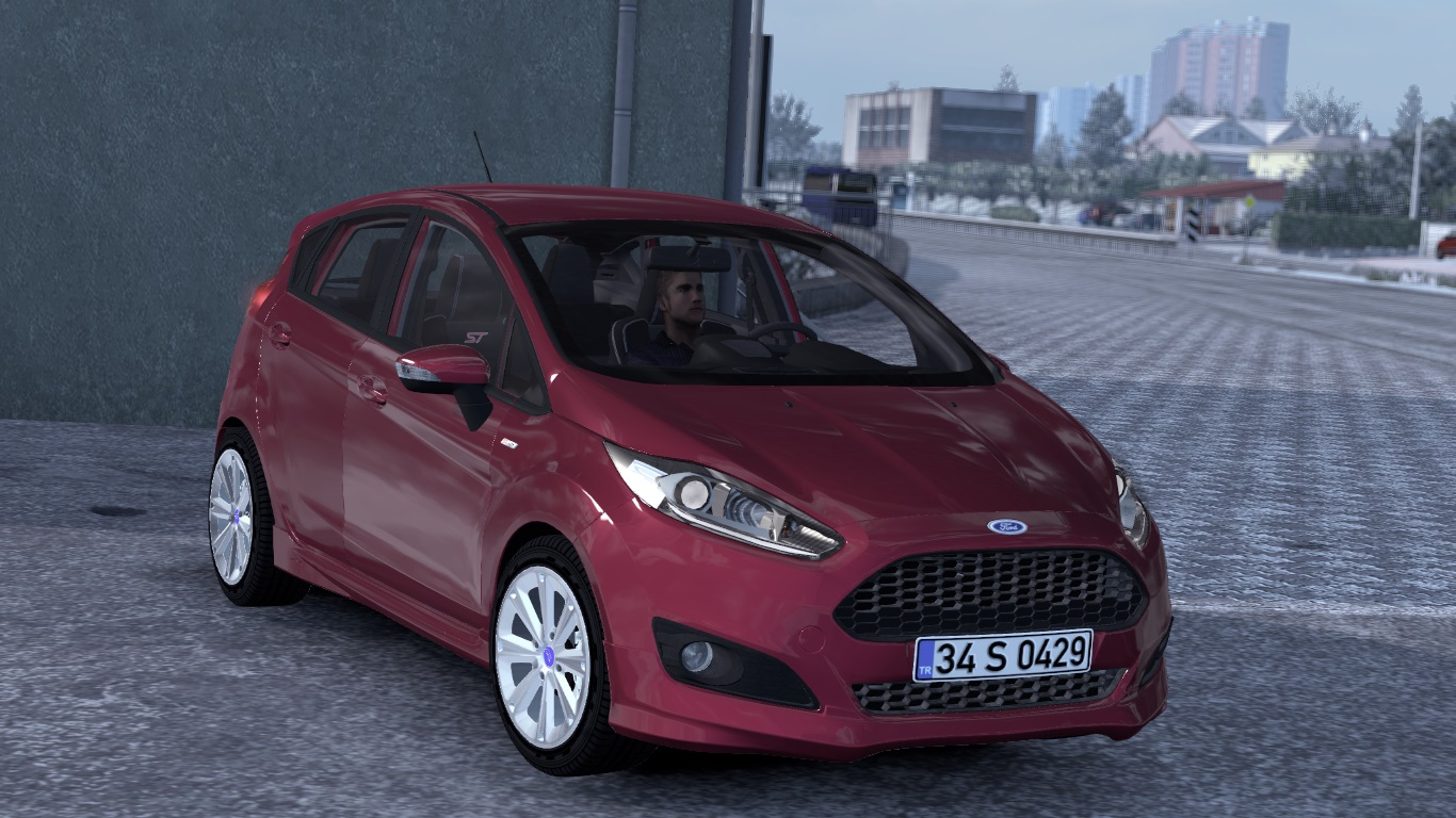 ETS 2 Ford Fiesta ST Mod