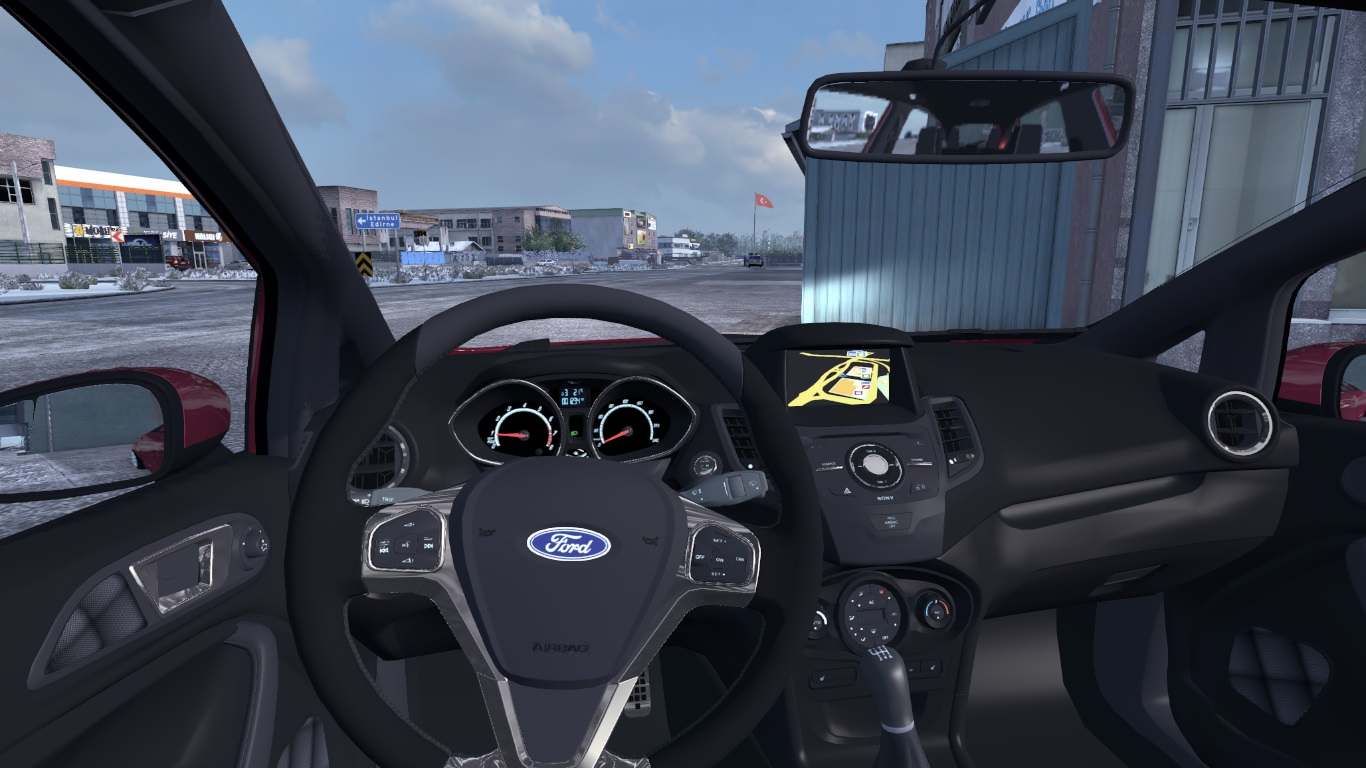 ETS 2 / ATS Ford Fiesta ST & ST-Line Car Mod Picture Image Photo img