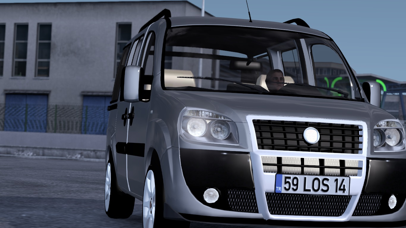 ETS 2 / ATS Fiat Doblo D2 Car Mod Picture Image Photo img