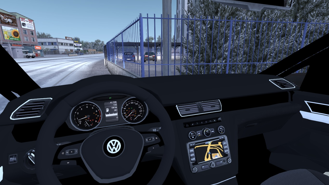 ETS 2 / ATS Volkswagen Caddy Car Mod Picture Image Photo img