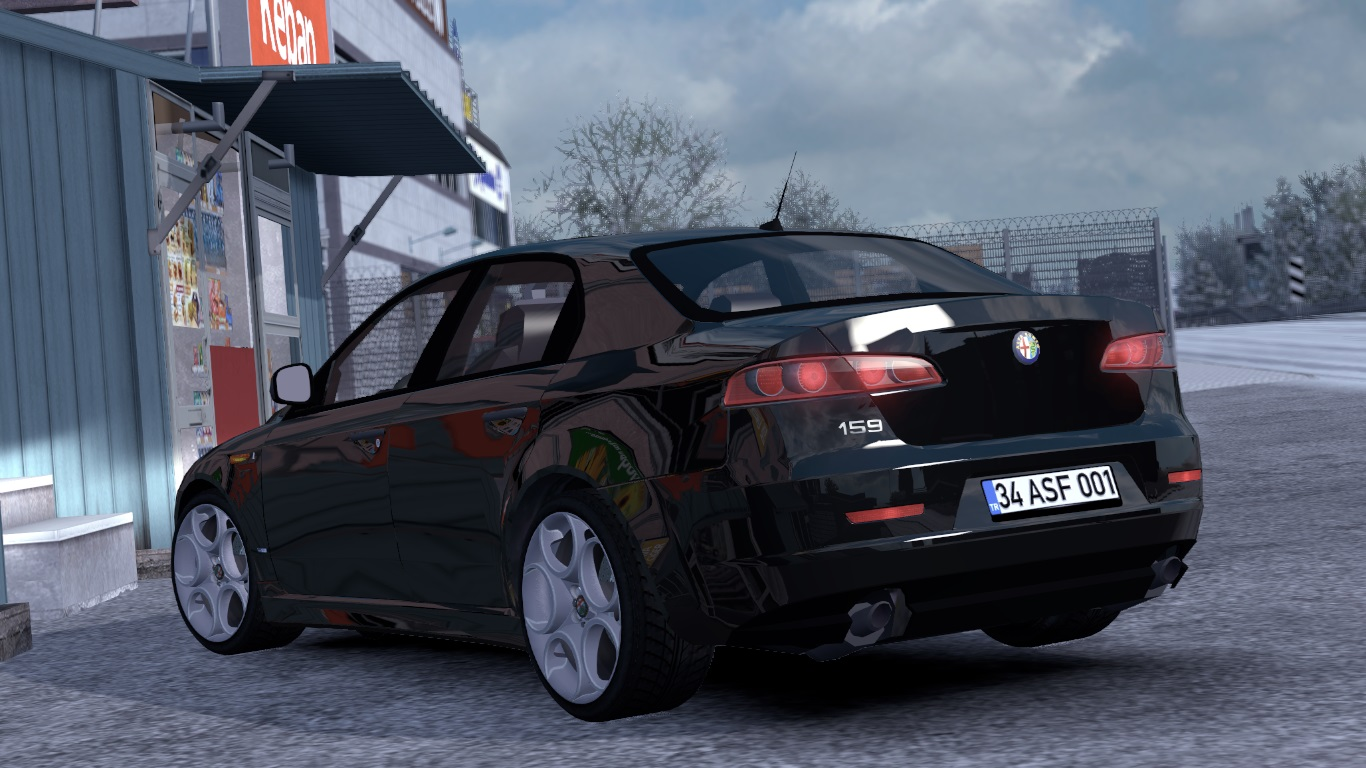 ETS 2 / ATS Alfa Romeo 159 Interior Car Mod Picture Image Photo img
