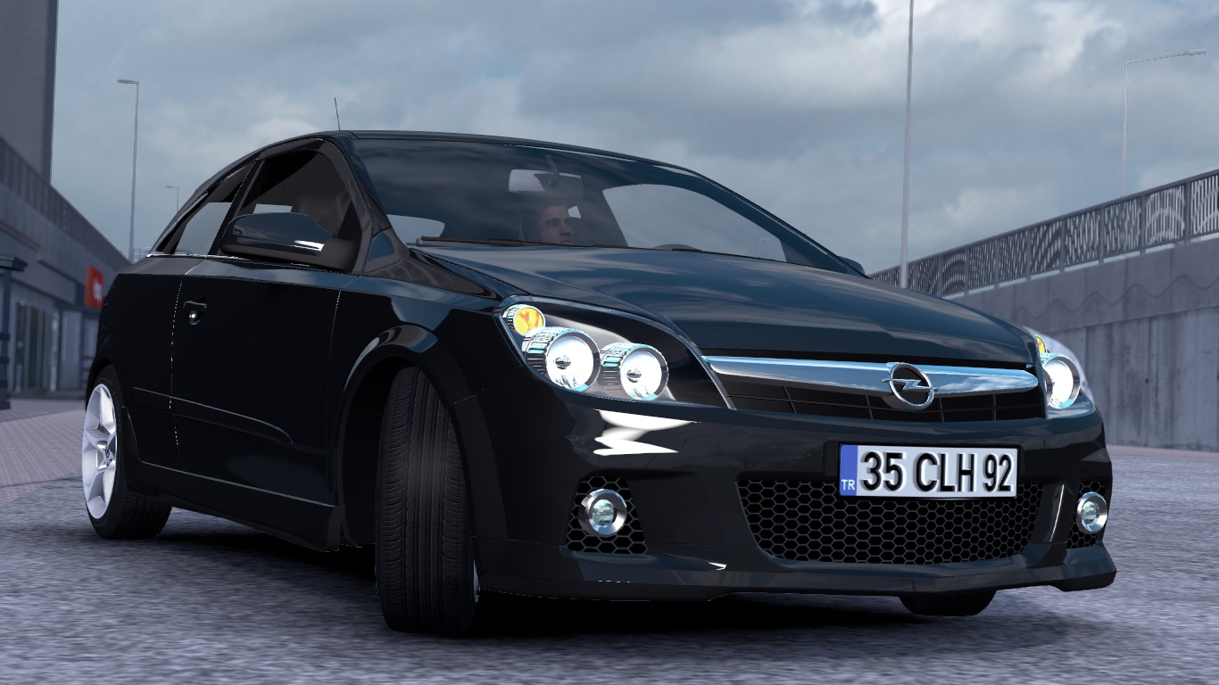 ETS 2 / ATS Opel Astra H Hatchback GTC OPC Car Mod Picture Image Photo img