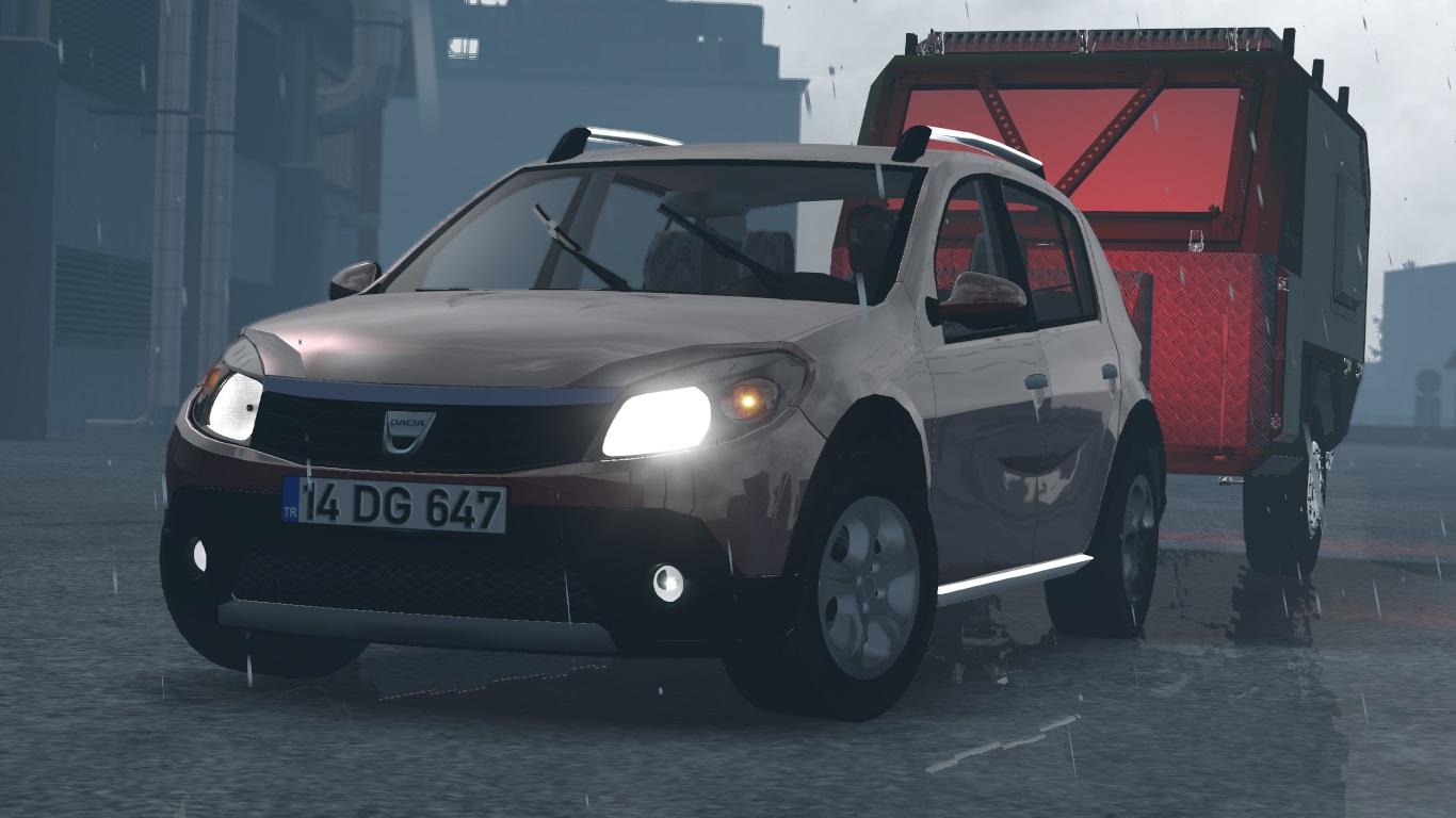 ETS 2 / ATS Dacia Sandero Car Mod Picture Image Photo img