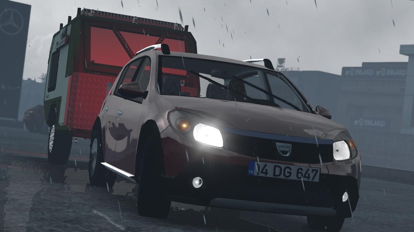 ETS 2 / ATS Dacia Sandero Mod
