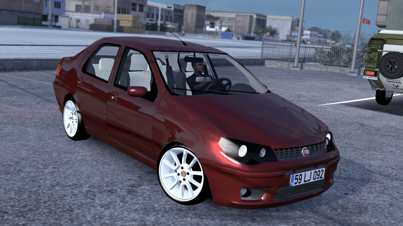 ETS 2 / ATS Fiat Albea Car Mod Picture Image Photo img
