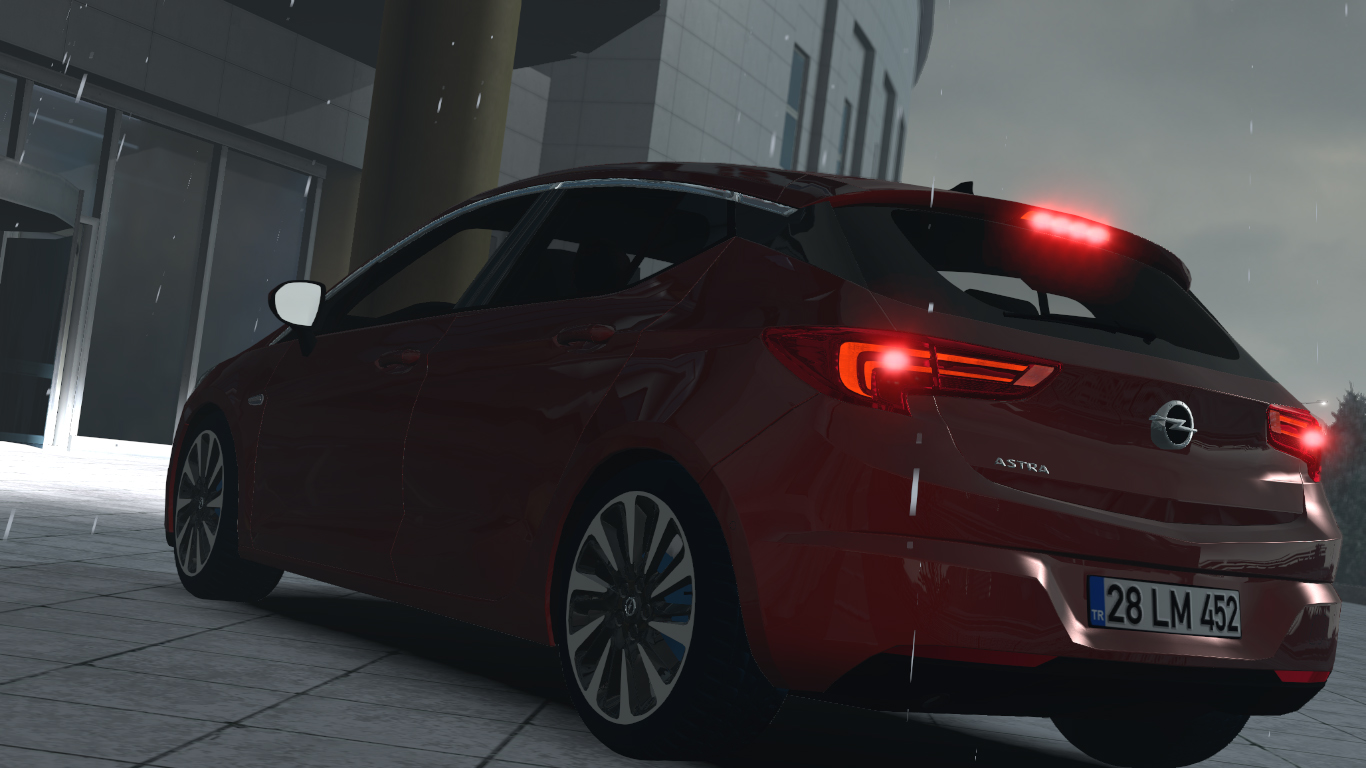 ETS 2 / ATS Opel Astra K Hatchback GTC OPC Car Mod Picture Image Photo img