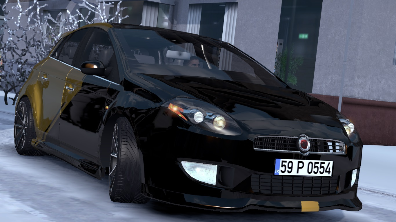 ETS 2 / ATS Fiat Bravo Car Mod Picture Image Photo img