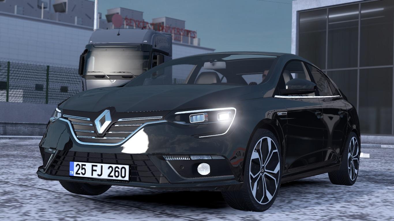 ETS 2 / ATS Renault Megane 4 Sedan IV Car Mod Picture Image Photo img