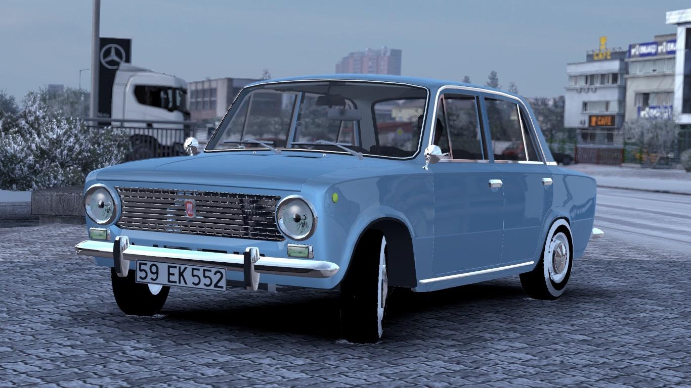 ETS 2 Fiat 124 Mod
