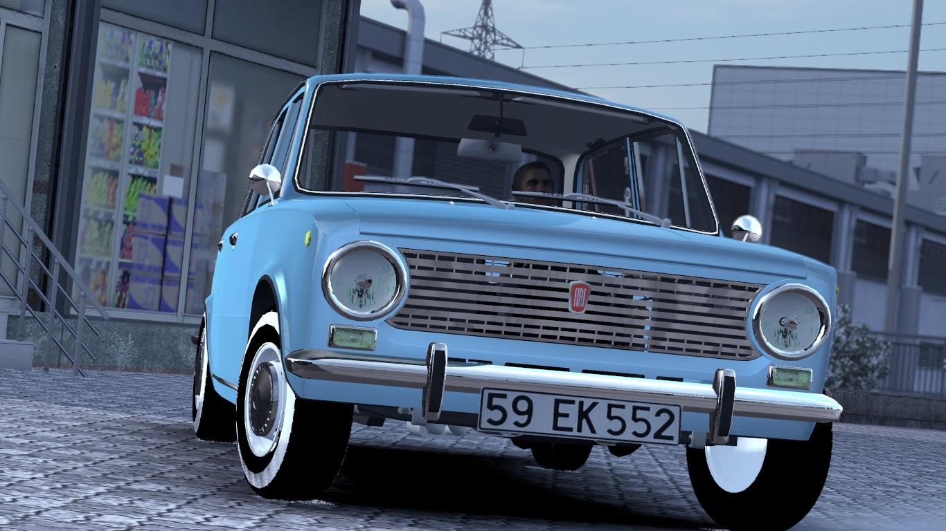 ETS 2 / ATS Fiat 124 Car Mod Picture Image Photo img