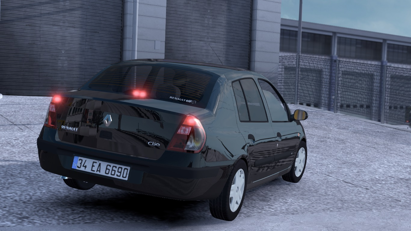 ETS 2 / ATS Renault Clio 2 Symbol Car Mod Picture Image Photo img