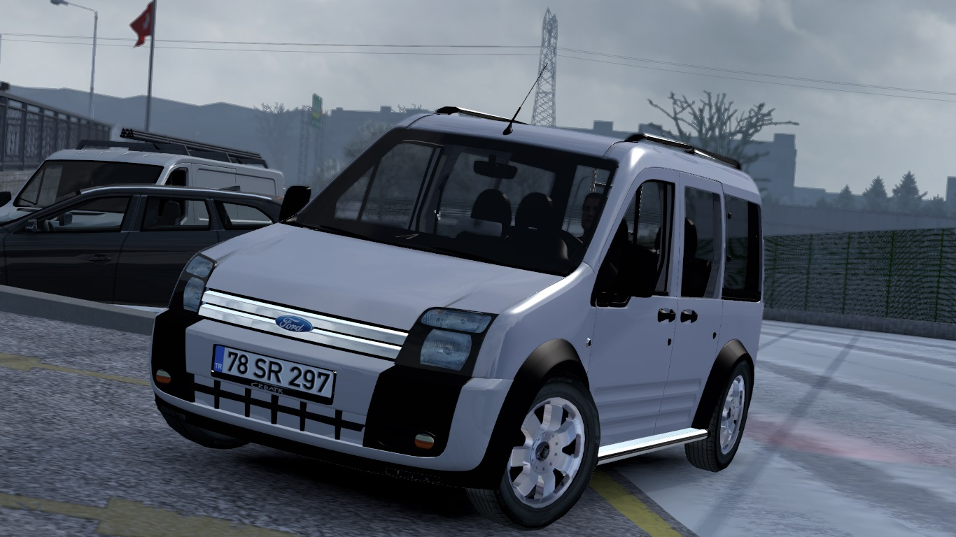 ETS 2 Ford Transit Connect Mod