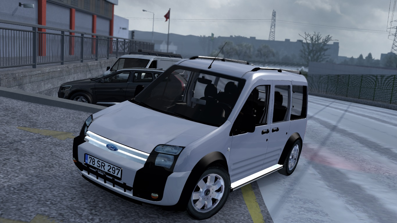 ETS 2 / ATS Ford Transit Connect Car Mod Picture Image Photo img