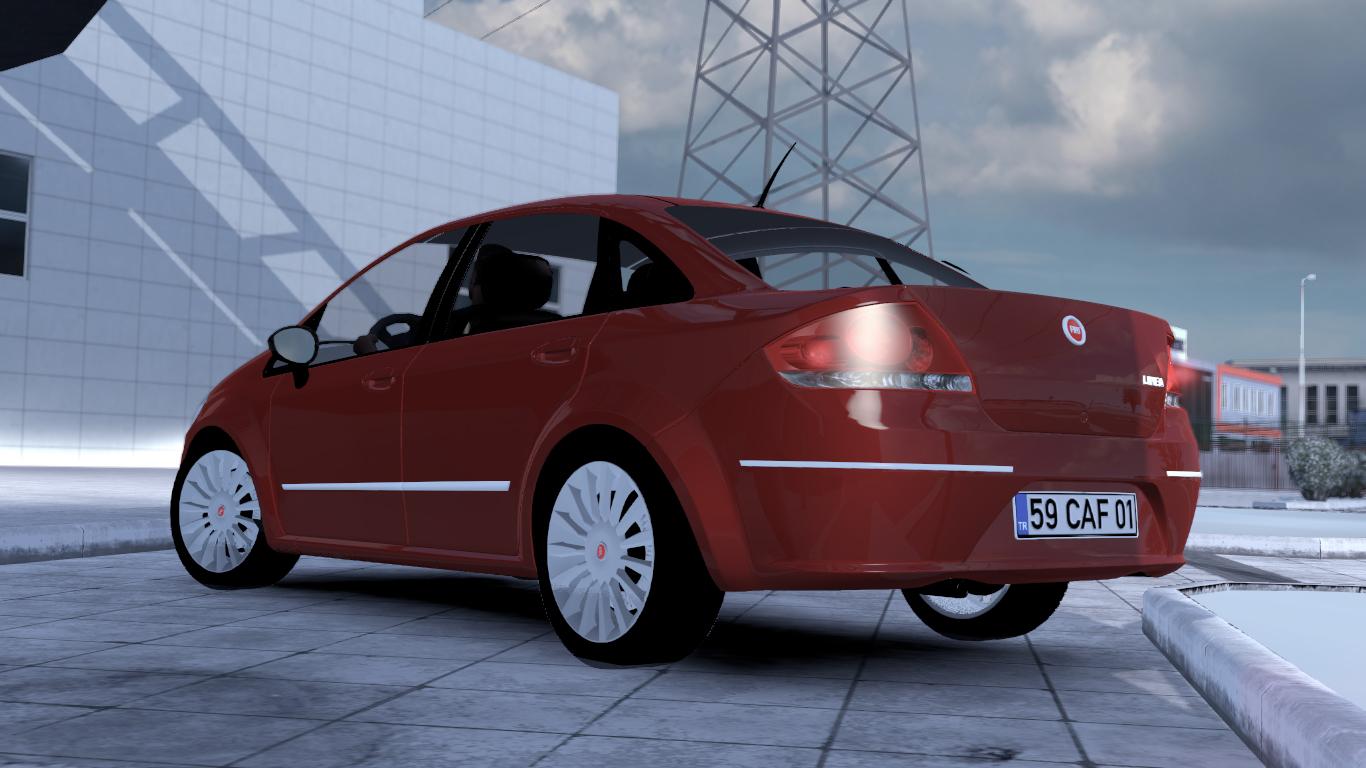ETS 2 / ATS Fiat Linea Car Mod Picture Image Photo img