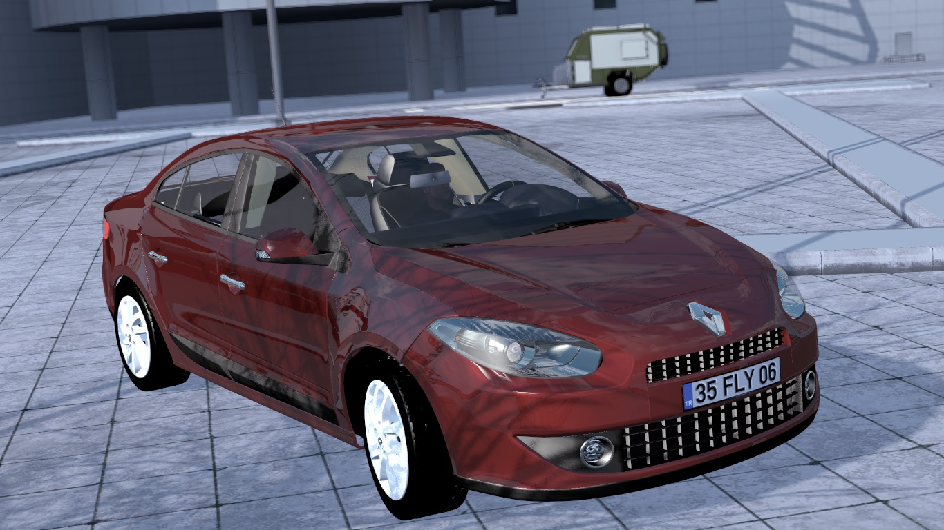 ETS 2 / ATS Renault Fluence Car Mod Picture Image Photo img