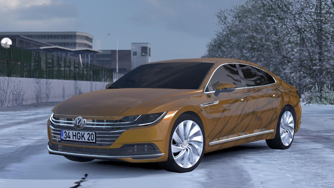 ETS 2 / ATS Volkswagen Arteon Passat R 2019 2020