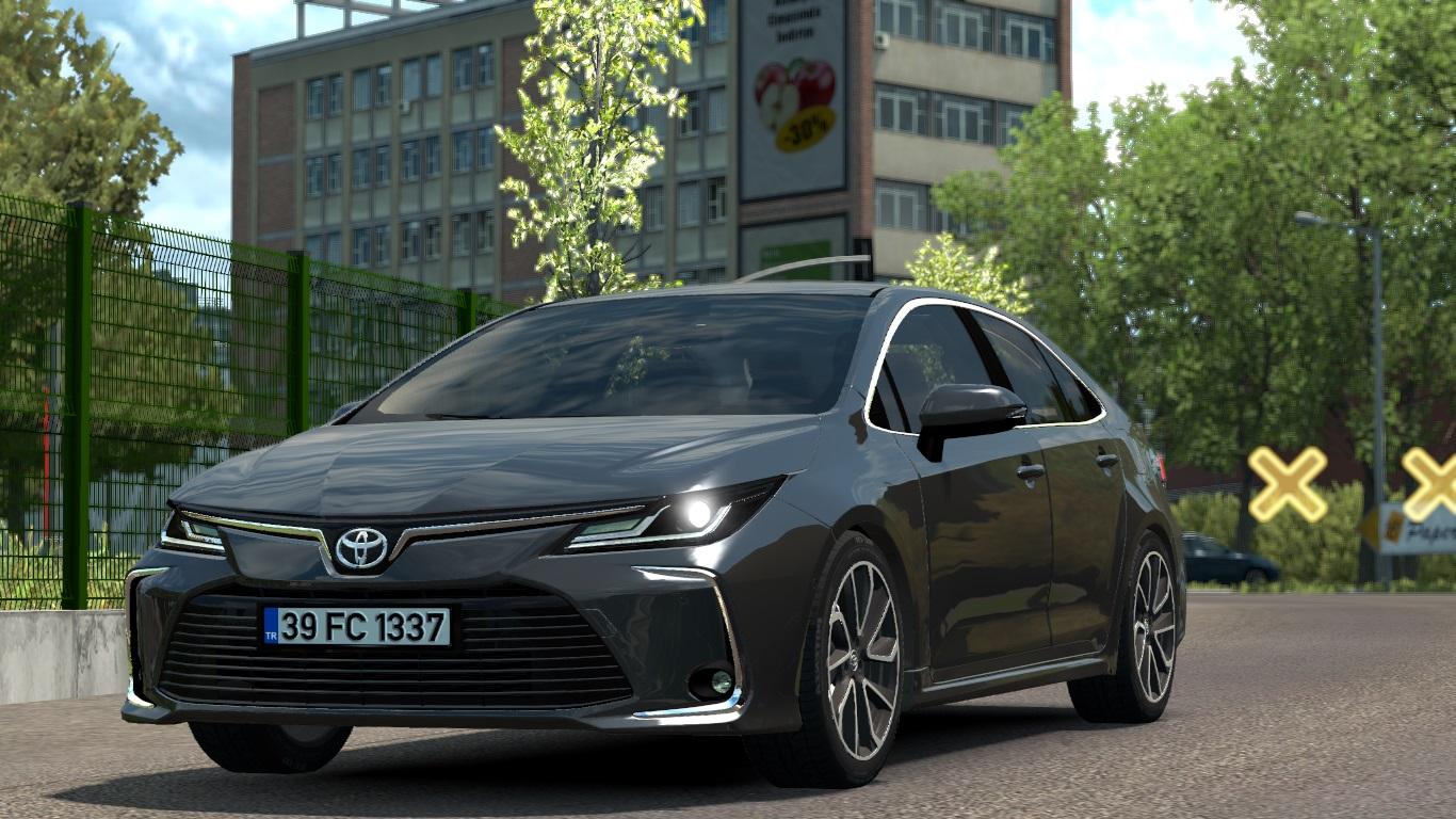 ETS 2 / ATS Toyota Corolla 2020 Car Mod Picture Image Photo img