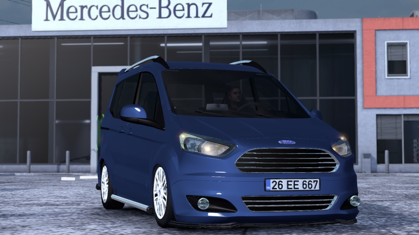 ETS 2 Ford Tourneo Courier Mod