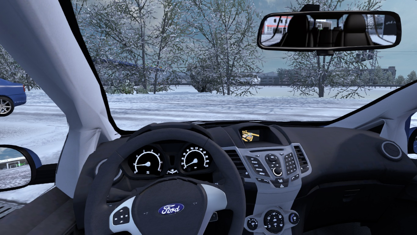 ETS 2 / ATS Ford Tourneo Courier Car Mod Picture Image Photo img
