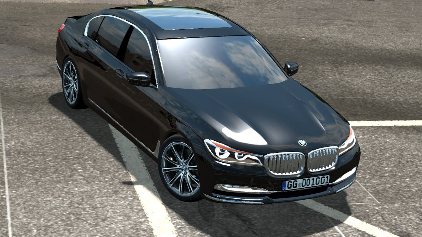 ETS 2 / ATS BMW 750Ld Car Mod Picture Image Photo img