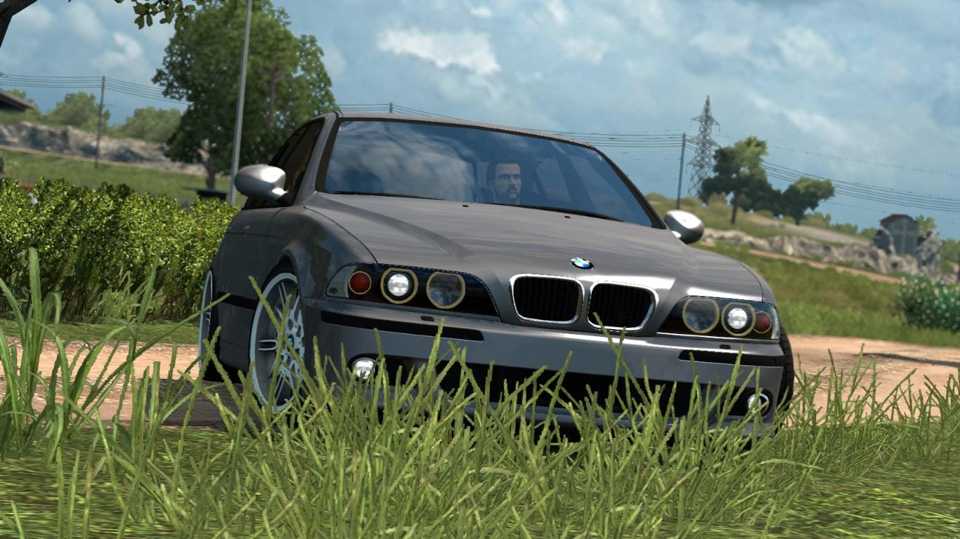 ETS 2 / ATS BMW E39 M5 Mod