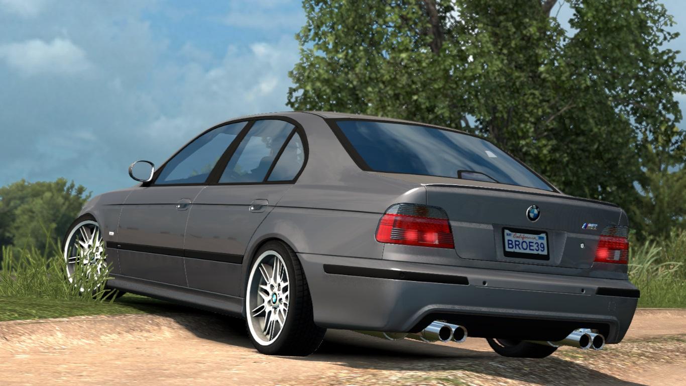ETS 2 / ATS BMW E39 M5 Sedan Car Mod Picture Image Photo img