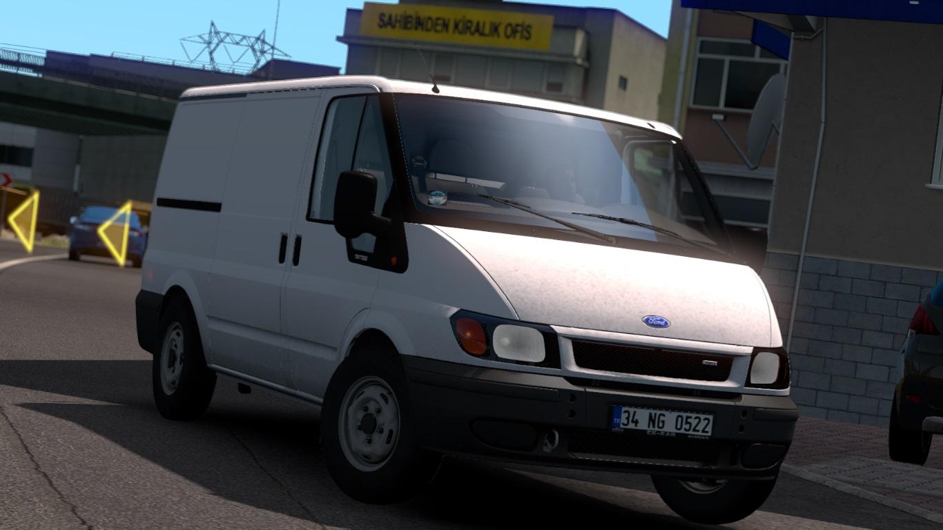 ETS 2 Ford Transit Mod