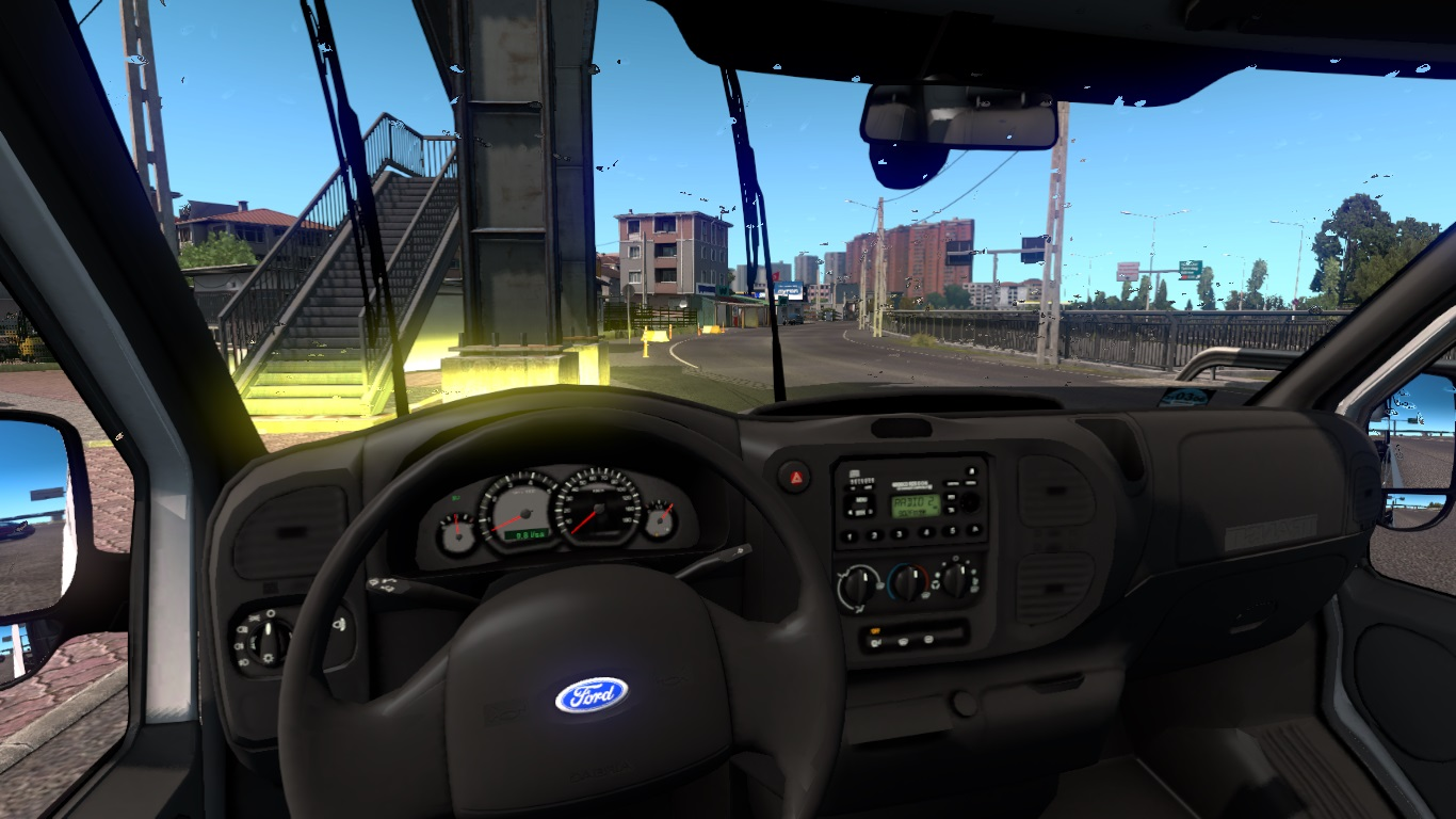 ETS 2 / ATS Ford Transit MK6 Van Mod Picture Image Photo img