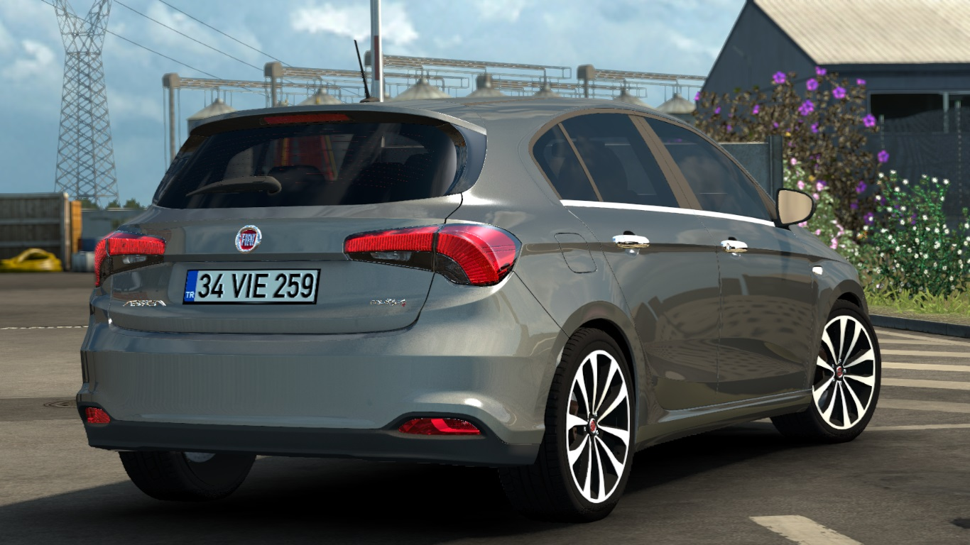ETS 2 / ATS Fiat Egea Tipo Sedan Hatchback Station Wagon SW HB Car Mod Picture Image Photo img