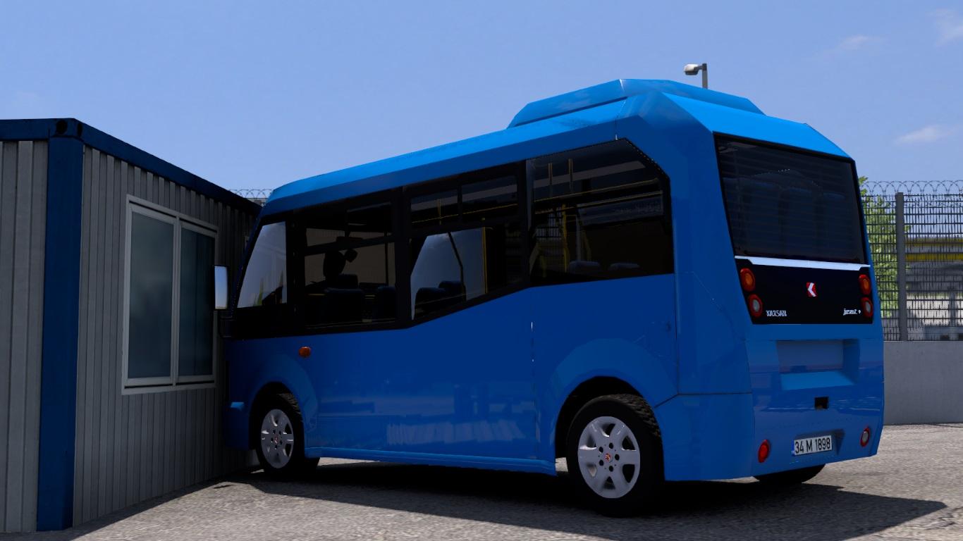 ETS 2 / ATS Karsan Jest Minibüs Car Mod Picture Image Photo img