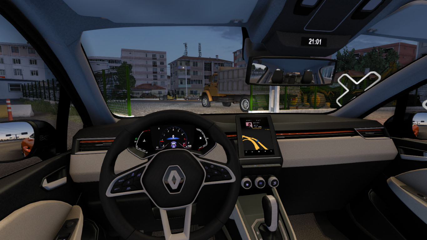 ETS 2 / ATS Renault Clio V Car Mod Picture Image Photo img