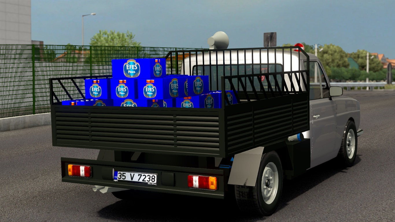 ETS 2 / ATS Anadol Pickup Car Mod Picture Image Photo img