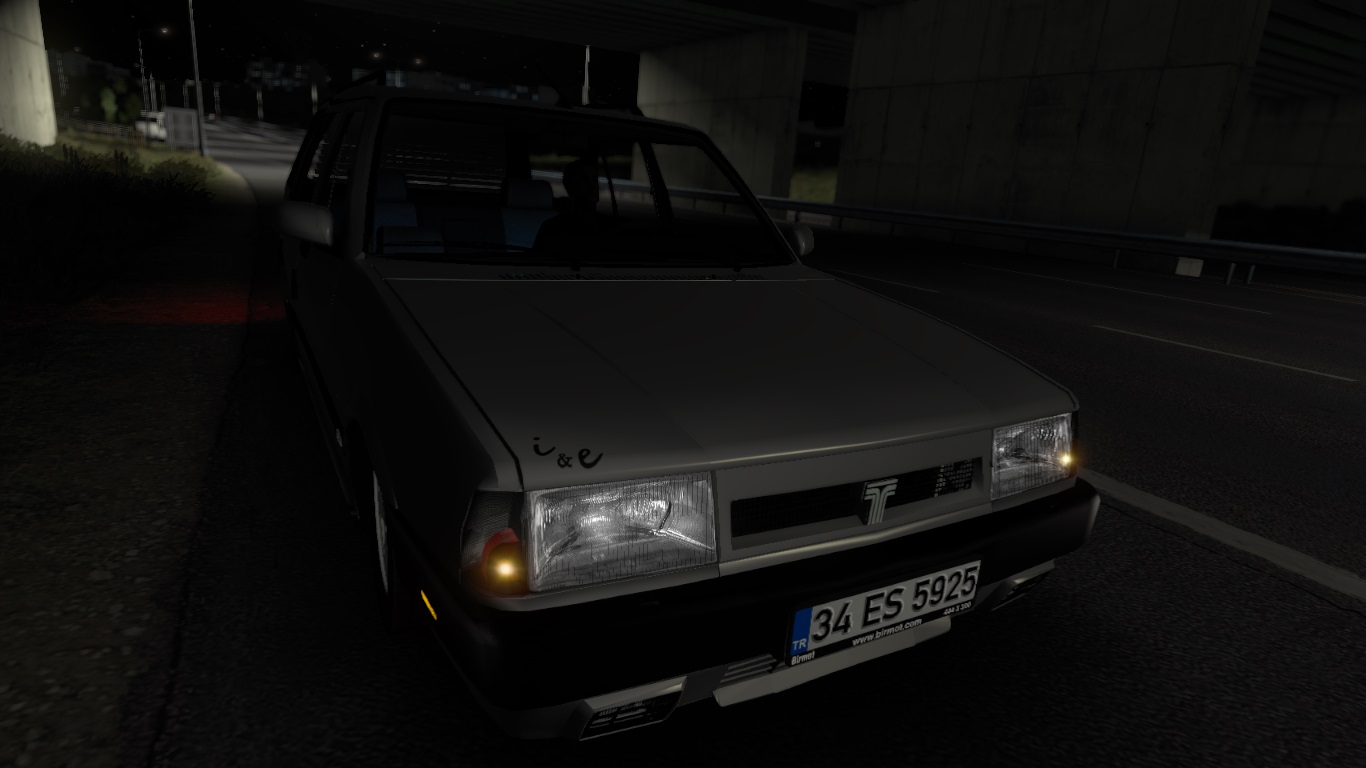 ETS 2 / ATS Tofaş Kartal Şahin Car Mod Picture Image Photo img