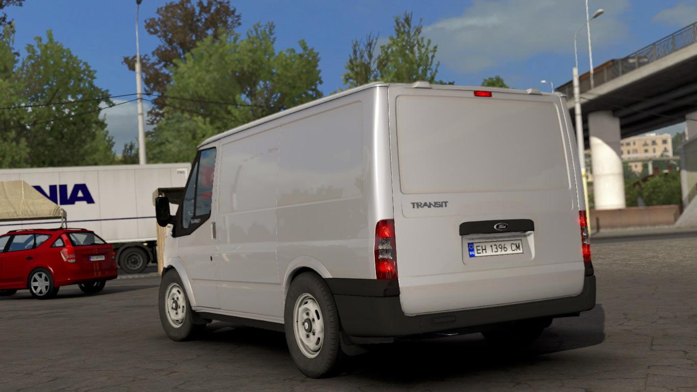 ETS 2 / ATS Ford Transit MK7 Van Mod Picture Image Photo img