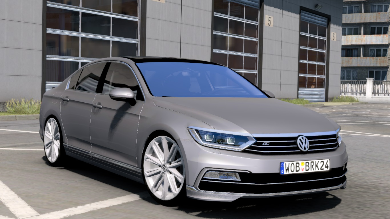 ETS 2 / ATS Volkswagen Passat Variant Sedan Station Wagon Car Mod Picture Image Photo img