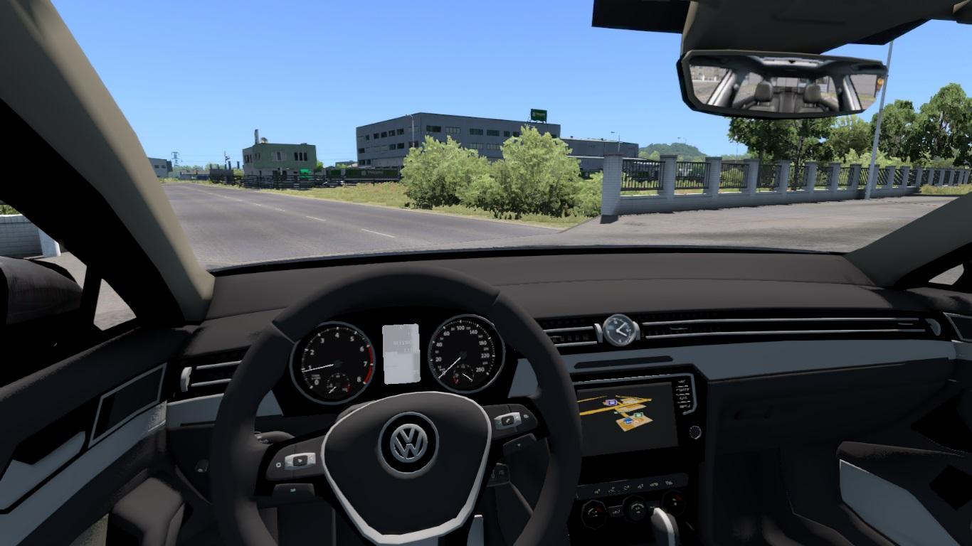 ETS 2 / ATS Volkswagen Passat Arteon CC Car Mod Picture Image Photo img